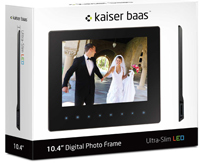 Ultra Slim Digital Photo Frames From Kaiser Baas Photo Review