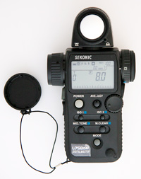 how to update sekonic l-758dr firmware