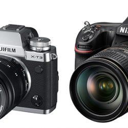 Firmware updates for Fujifilm X-T3 and Nikon D850 cameras
