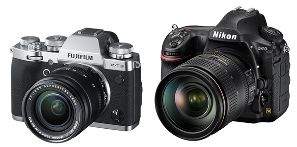 Firmware updates for Fujifilm X-T3 and Nikon D850 cameras - Photo Review