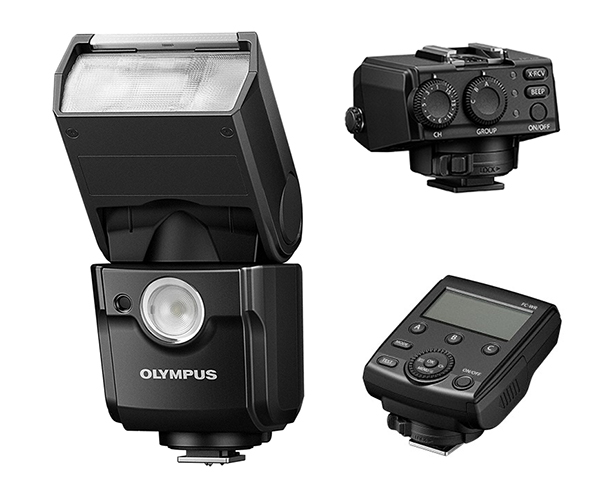 New Olympus Wireless Flash System