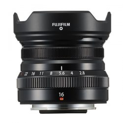 Fujifilm announces XF 16mm f/2.8 R WR lens