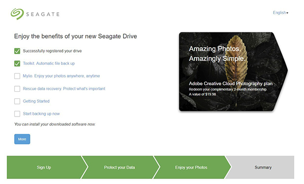 Seagate Backup Plus Storage Drives - Photo Review