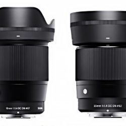 Sigma 16mm f/1.4 and 30mm f/1.4 lenses coming soon with Canon EF-M mount