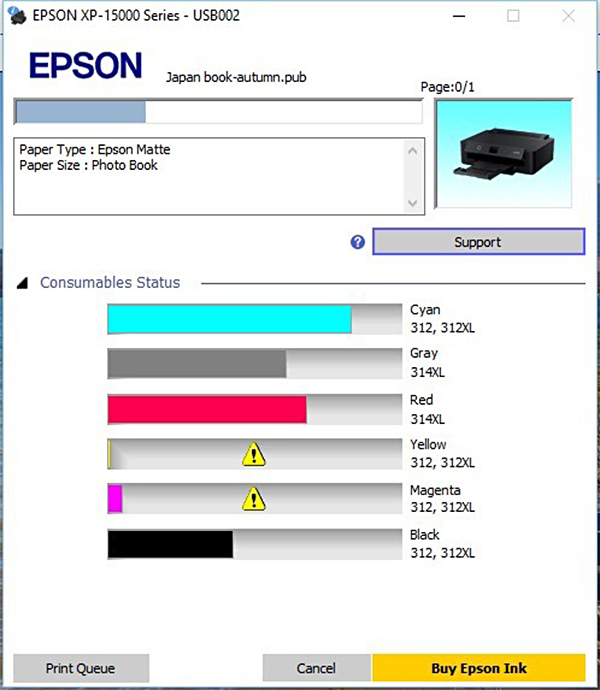 Epson Expression Photo HD XP-15000 - Photo Review
